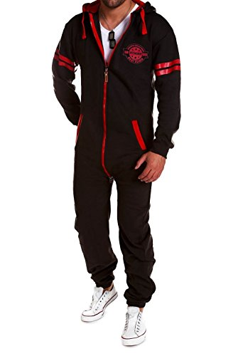 MT Styles Jumpsuit Slim Trainingsanzug Overall Jogginganzug MJ-2154…