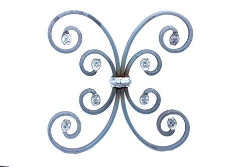 UHRIG Schmiedeeisen Ornament für z.B. Geländer, Fenstergitter usw. aus Stahl Eisen geschmiedet #952