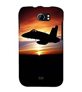 printtech Fighter Planes Army Back Case Cover for Micromax Canvas 2 A110::Micromax Canvas 2 Plus A110Q