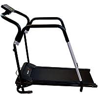 Preisvergleich für MAXOfit® Sport Laufband MF-16 Heimtrainer | Mit Reha-Griff | Leiser Elektromotor | Bis 10 km/h | LCD-Display