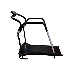 MAXOfit® Tapis roulant Elettrico Professionale Deluxe MF-16 per Riabilitazione e camminiate rilassanti con maniglioni e… 2 spesavip