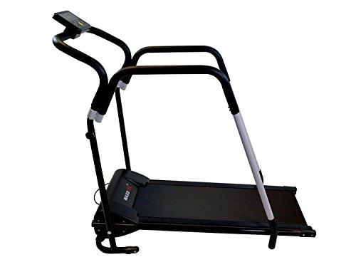 MAXOfit® Sport Laufband MF-16 Heimtrainer | Mit Reha-Griff | Leiser Elektromotor | Bis 10 km/h | LCD-Display