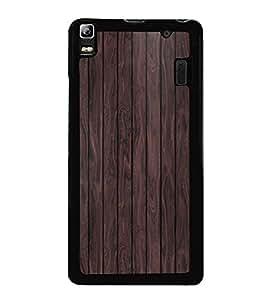PrintVisa Designer Back Case Cover for Lenovo A7000 :: Lenovo A7000 Plus :: Lenovo K3 Note (Wooden Veneer pattern)
