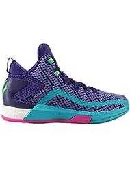 adidas John Wall 2Boost Zapatillas de baloncesto para niños lila / türkis Talla:38