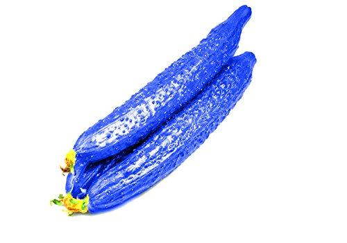100 Stück blau Gurkensamen köstlich Gemüse Bonsai Pflanze