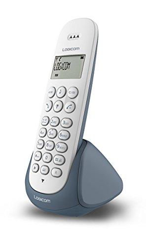 LOGICOM AURA150_Solo_ARDOI Téléphone sans Fil DECT Gris/Pourpre/Blanc/Rose/Noir/Clair/Turquoise