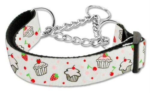 Mirage Cupcakes Nylon Cinta Martingale Collar de Perro