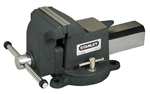 Preisvergleich Produktbild Stanley Maxsteel Schraubstock (schwere Ausführung, 95 mm Ausladung, 125 mm Spannweite, 1800 kg Spannkraft) 1-83-067