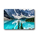 Dalliy Moraine lake Fu?matten Doormat Outdoor Indoor 23.6