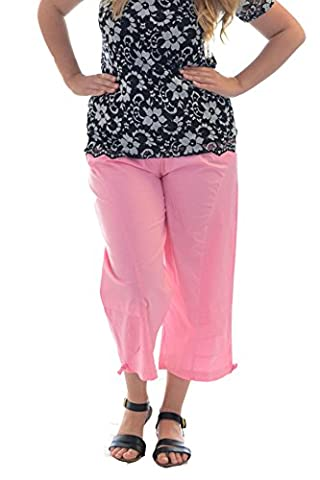 Nouvelle Cropped Cotton 3/4 pants (22, Baby