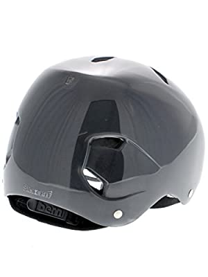 Bern Boy's Diablo Thin Shell EPS Helmet - Translucent by Bern
