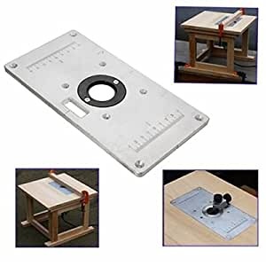 235mm x 120mm x 8mm aluminum router table insert plate for 235mm x 120mm x 8mm aluminum router table insert plate for woodworking benches greentooth Gallery