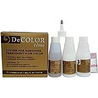 Sistema para eliminar el color permanente del pelo  decolor time
