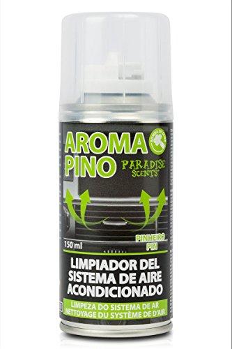 Paradise PER20012 Limpiador Pino Aire Acondicionado, 150 ml, Color Verde