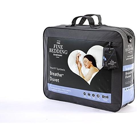 Il Fine Bedding Company Breathe-Piumino per letto matrimoniale, 4,5 tog, Legno, Super King