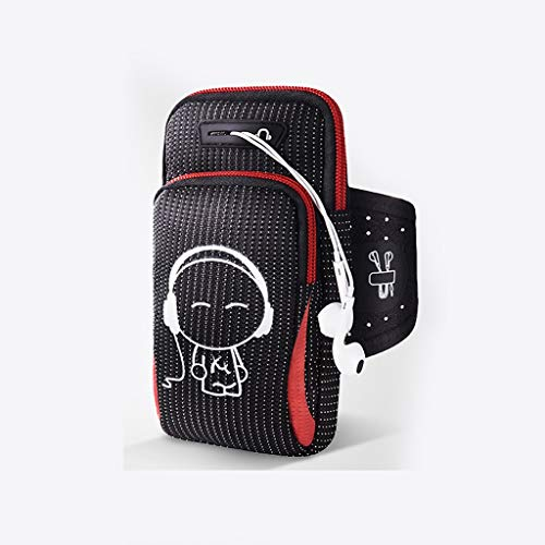 Rff Mobile Phone Arm Pack Leicht und vielseitig 5-6,3 Zoll Handy Täglicher Gebrauch Outdoor Sports Travel Vacation Multicolor (Color : D) - Handy Phone Pack