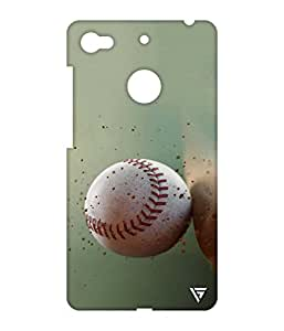 Vogueshell Baseball Printed Symmetry PRO Series Hard Back Case for LeEco Le 1s Eco