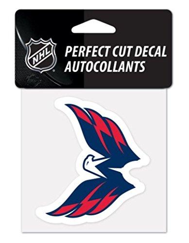 NHL Washington Capitals 10x 10cm (10,2x 10,2cm) die cut decalcomania