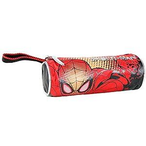 Spiderman – Portatodo cilíndrico, Color Celeste (Cerdá 2100000538)