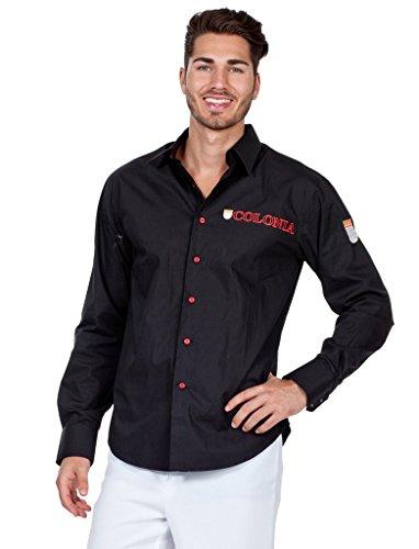 Preisvergleich Produktbild Hemd Herren Colonia schwarz XXXXXL (5XL)