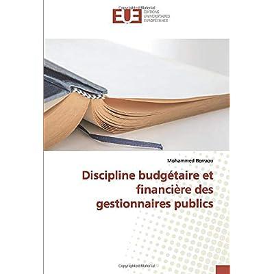 Discipline budgétaire et financière des gestionnaires publics