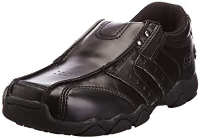 Skechers Boys Diameter Cole Shoes, Black, 2 UK