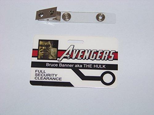 Kostüm Bruce Banner (AVENGERS , Bruce Banner / The Hulk ID - Karte , ID Badge , The)
