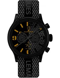 Jacques Lemans Sports Herren-Armbanduhr XL Porto Chronograph Kautschuk 1-1669C