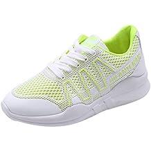 9be4d283 Regalos originales y de broma Beladla Mujer Zapatillas De Deporte CuñA  Zapatos para Correr Plataforma Sneakers ...