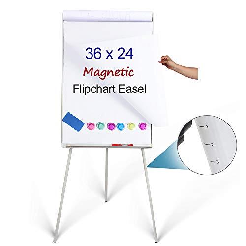 DexBoard Stativ Easle Whiteboard weiß - Auf Blatt Auf Klammern Sie Schreiben