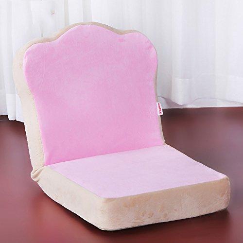 L-R-S-F Faul Sofa Einzigen Folding Dorm Bett Rückenlehne Stuhl Schlafzimmer Erker Kleines Sofa Niedlichen Mini ( Farbe : Pink )