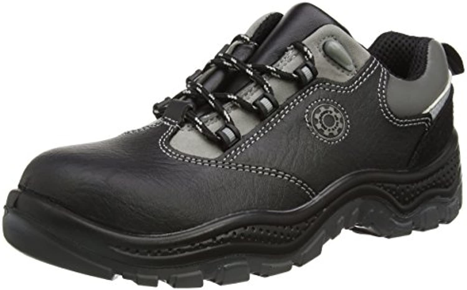 Security Line 4117 - Botas de Cuero Adultos Unisex, Color Negro, Talla 46