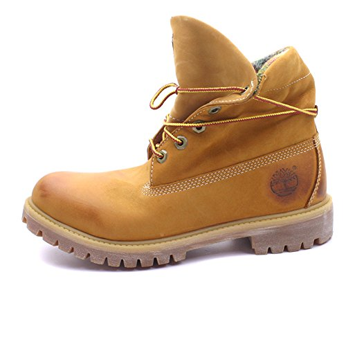 Timberland EARTHKEEPERS® ROLL TOP WOOLRICH Stivali Uomo Giallo