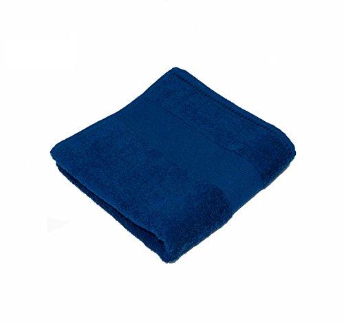 Telo bagno maxi 100% cotone spugna riccia - Classic Towel 100X161 Blu