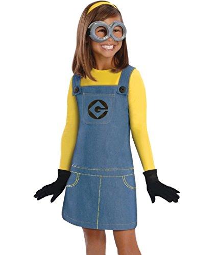 Reino de juguetes - Disfraz minion niña (10-12 años) 115-126cm