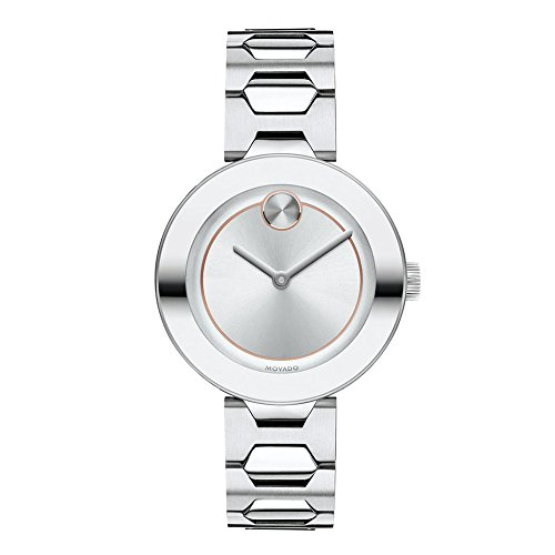Movado Ladies' Bold Stainless Steel Watch 3600381