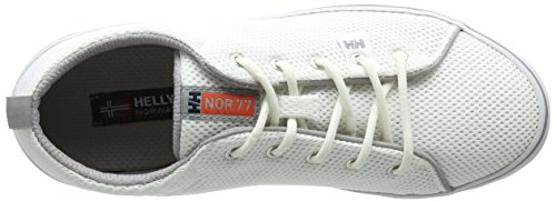 Helly Hansen Damen W Scurry 2 Bootsportschuhe Weiß (Off White/ Light Grey/ Grenadine/ Smoked Pearl Gum)