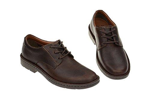 Clarks Stratton Way, Chaussures de ville homme Marron - Marron