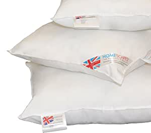 """Super MicroFibre - Cushion Pad Inner Insert - 12 x 20 """" (30 x 50 cm) - Washable at Home - The Best Synthetic Cushion Pad Available by HOMESCAPES"""