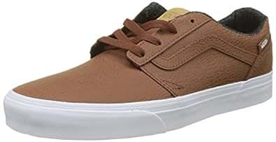 Chapman Stripe, Sneaker Uomo, Nero (H17 Leather), 46 EU Vans
