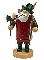 yanka-style Räuchermännchen Räuchermann Räucherfigur Rauchfigur Holzfäller ca. 18 cm hoch, aus Holz, Weihnachten Advent Geschenk (30107-18)