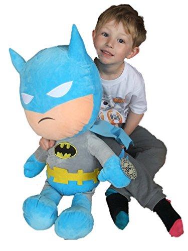 Peluche Batman e Superman Giganti Originali DC Comics 66 cm