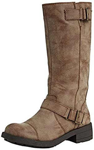 Rocket dog tERRY bottes style biker pour femme - Marron - Braun (TAN CJ2), 41 EU