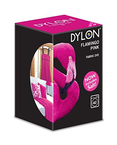 Dylon - Stoff Waschmaschinenfarben - Flamingo Rosa 350gr (Flamingo-stoff Rosa)