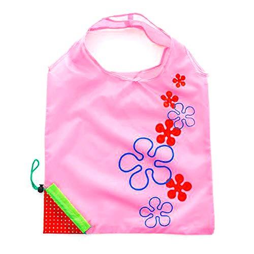 Comtervi 1 Stück Erdbeere Einkaufstasche Faltende Einkaufstasche Lebensmittels Faltbar Tasche Wiederverwendbar für OutdoorWiederverwendbar für Outdoor -