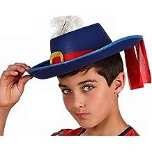 Atosa - Sol  Sombrero Mosquetero Azul niños 4d0d4fd6561