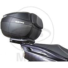 Shad Y0TR14ST Soporte de Baúl para Yamaha Tricity 125, Negro