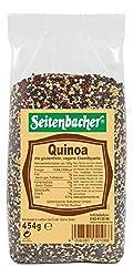Seitenbacher Quinoa Bunt/Tricolor, Vegan, rot, schwarz, weiß, 4er Pack (4 x 454 g)