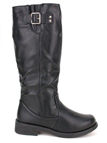 Cendriyon, Botte noire CINKA MODA Chaussures Femme Noir