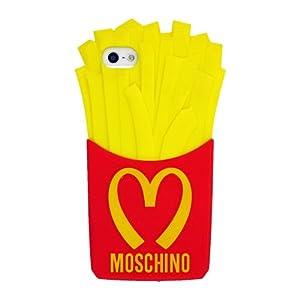 gelb moschino chips franz sisch frites weich silikon gel schutz h lle tasche schutzh lle f r. Black Bedroom Furniture Sets. Home Design Ideas